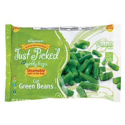 Wegmans Food You Feel Good About Just Picked and Quickly Frozen Cut Green Beans