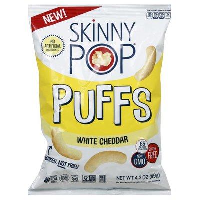 SkinnyPop Puffs, White Cheddar