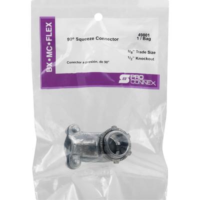 Pro Connex Squeeze Connector, 90 Degrees