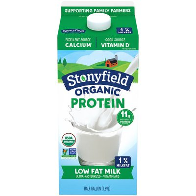 Stonyfield Organic Low Fat Milk