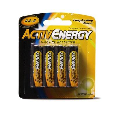 ActivEnergy AA Alkaline Batteries