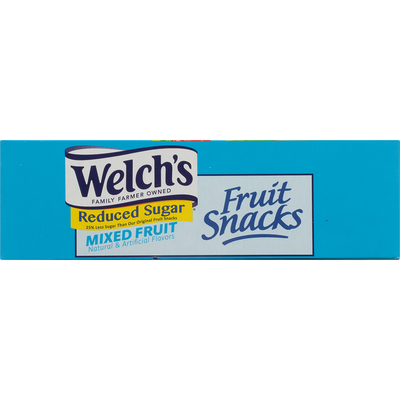 Welch's Fruit Snacks, Reduced Sugar, Mixed Fruit