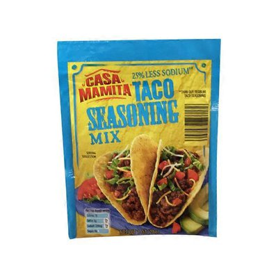 Casa Mamita Reduced Sodium Taco Mix
