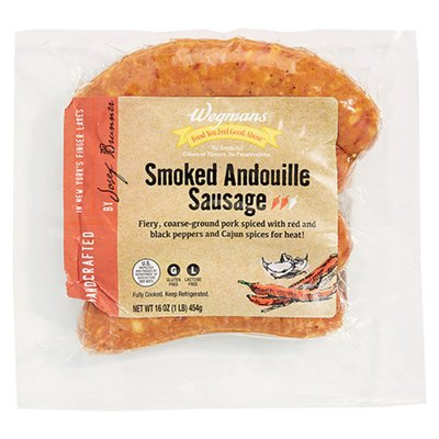 Wegmans Food You Feel Good About Smoked Andouille Sausage