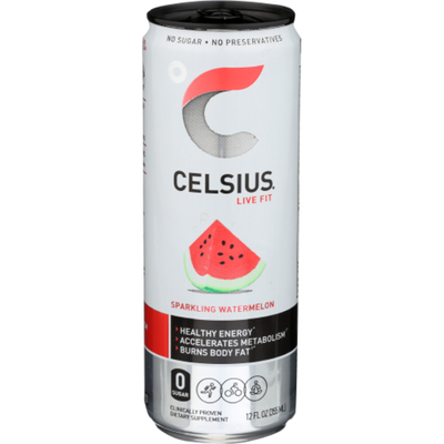 CELSIUS Sparkling Energy Drink Watermelon