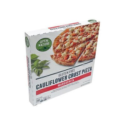 Open Nature Pizza, Gluten Free, Cauliflower Crust, Margherita