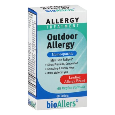 bioAllers Allergy Treatment, Outdoor Allergy, Tablets