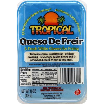 Tropical Cheese, Queso de Freir