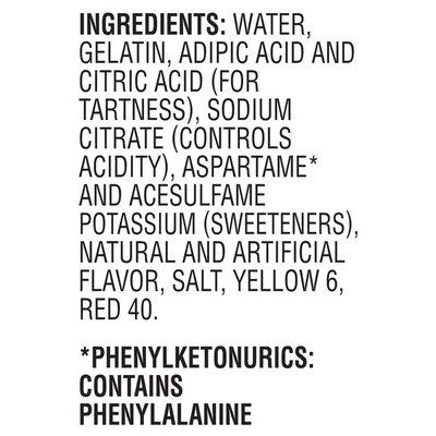 Jell-O Orange Sugar Free Ready-to-Eat Gelatin Snacks