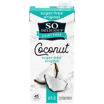 So Delicious Dairy Free UHT Sugar-Free Coconut Milk