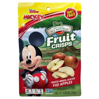 Brothers All Natural Disney Freeze Dried Fuji Apple Fruit Crisps