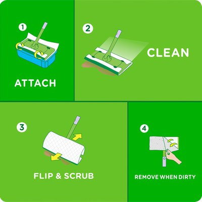 Swiffer Sweeper Wet Mopping Cloths, Multi Surface Refills, Lavender & Vanilla