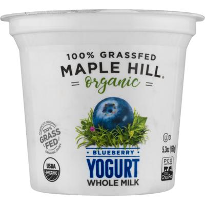 Maple Hill Organic Yogurt Blueberry