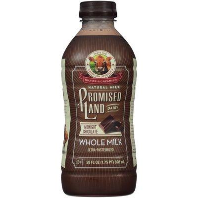 Promised Land Dairy Midnight Chocolate Whole Milk
