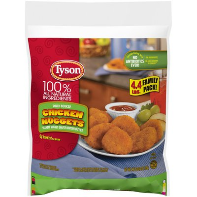 Tyson Fully Cooked Chicken Nuggets, Frozen