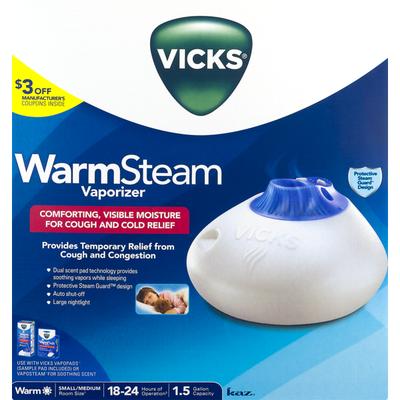 Vicks WarmSteam Vaporizer for Small/Medium Room Size