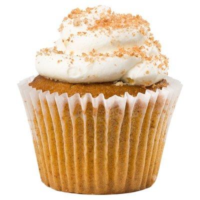 S 6 Pumpkin Cupcakes
