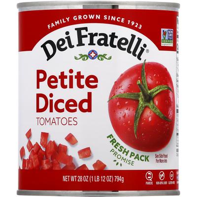 Dei Fratelli Tomatoes. Petite Diced