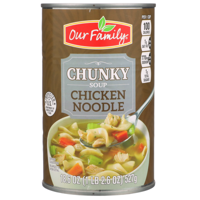 Our Family Chunky Chicken Noodle Soup