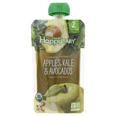 Happy Baby Apples, Kale & Avocados