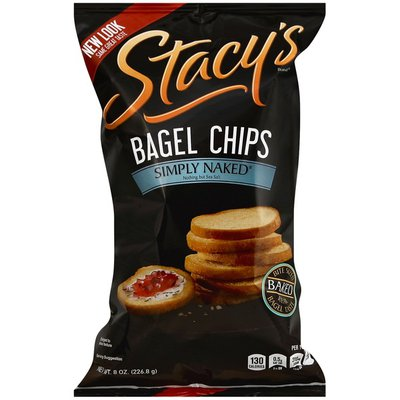 Stacy's Bagel Chips, Simply Naked