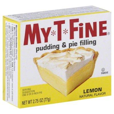 My-T-Fine Pudding & Pie Filling, Lemon