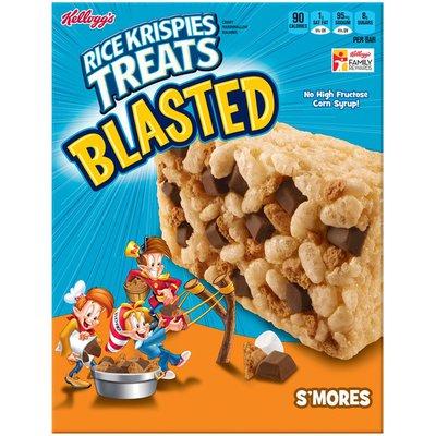 Kellogg's Rice Krispies Treats Blasted® S'mores Crispy Marshmallow Squares