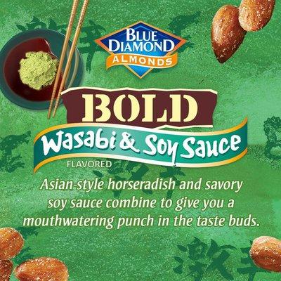 Blue Diamond Bold Wasabi & Soy Sauce