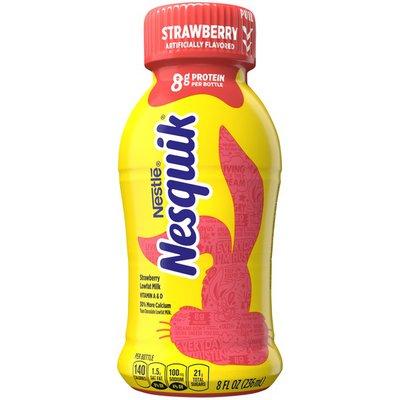 Nestle Nesquik Strawberry Lowfat Milk