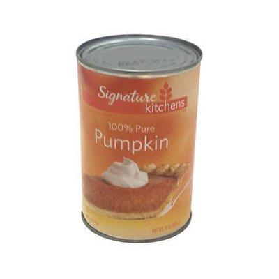"Signature Select 100% Pure Pumpkin 9"" Pie"