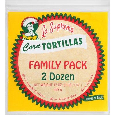 La Suprema Corn Tortillas
