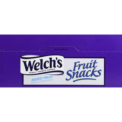 Welch's Fruit Snacks, Mixed Fruit, 28 Fun Size Pouches