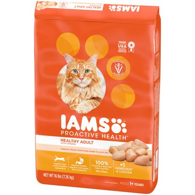 IAMS Healthy Adult Dry Cat Food with Chicken