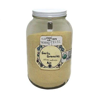 Organic Garlic Granules
