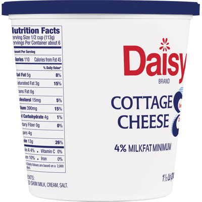Daisy Small Curd Cottage Cheese
