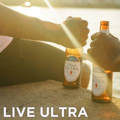 Michelob Ultra Light Beer Bottles