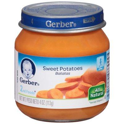 Gerber 2 Nd Foods Sweet Potatoes Baby Food