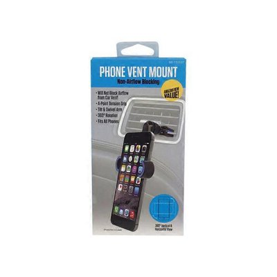Cell Phone Vent Mount Holder - Assorted Colors