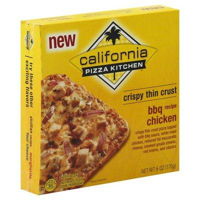 California Pizza Kitchen Pizza, Crispy Thin Crust, BBQ Recipe Chicken