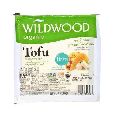 Wildwood Organic Firm Tofu