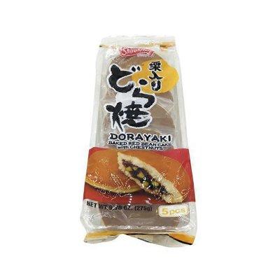 Shirakiku Dorayaki Baked Reb Bean Cake