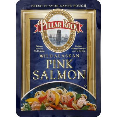 Pillar Rock Salmon, Pink, Wild Alaskan