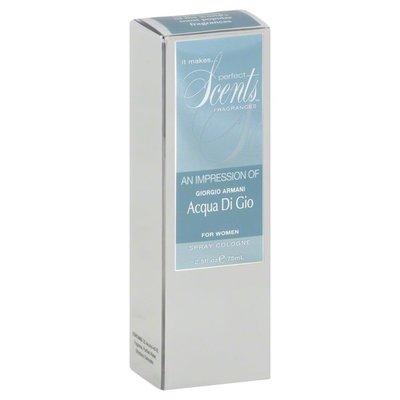 Perfect Scents Spray Cologne, for Women, An Impression of Giorgio Armani Acqua Di Gio