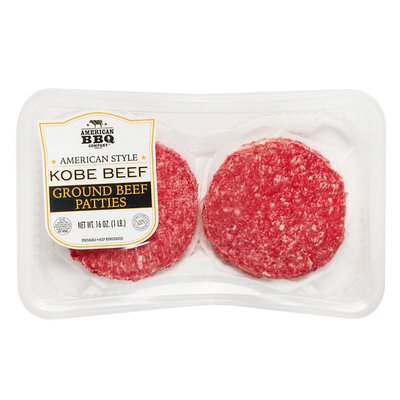 American BBQ Company Kobe Ground Beef Patties