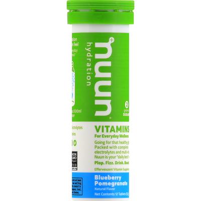 Nuun Vitamins, Tablets, Blueberry Pomegranate