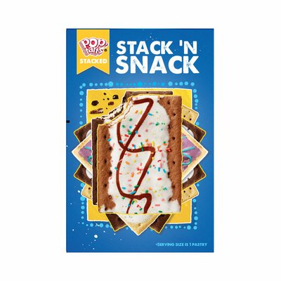 Kellogg's Pop-Tarts Toaster Pastries, Breakfast Foods, No Frosting, Unfrosted Strawberry