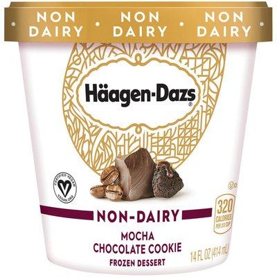 Haagen-Dazs Non Dairy Mocha Chocolate Cookie Frozen Dessert