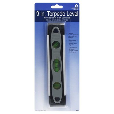 Helping Hand 9 in.Torpedo Level, Blister Pack