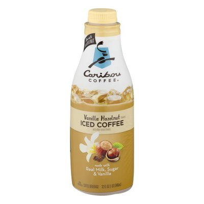 Caribou Coffee Iced Coffee Vanilla Hazelnut