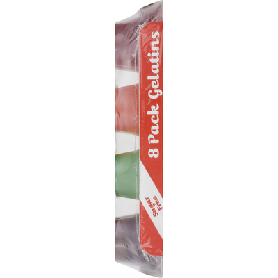Lakeview Farms Gel Snacks, Sugar Free, Assorted Flavors, 8 Pack